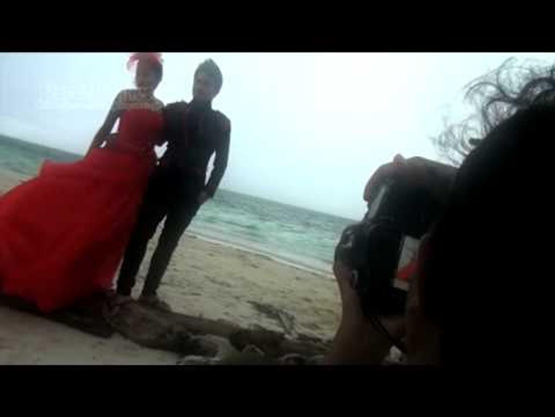 Cinta Penelope Foto Pre-wedd di Morotai