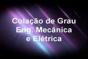 Formatura Engenharia Elétrica e Mecânica UFBA Colação de Grau 2011 - Laser Show