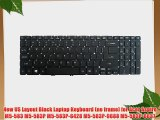New US Layout Black Laptop Keyboard (no frame) for Acer Aspire M5-583 M5-583P M5-583P-6428