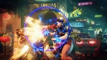 Street Fighter V - Battle System Trailer   PS4