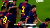 Raja Casablanca - Barcelona (0-8) All Goals Full Match Highlights 28.07.2012 Messi Hattrick