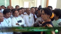 Daw Aung San Suu Kyi Meets Kawhmu Contituents, USDP members