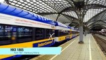 Köln Hbf / Cologne Central Station - German High Speed Trains - 08.10.2014