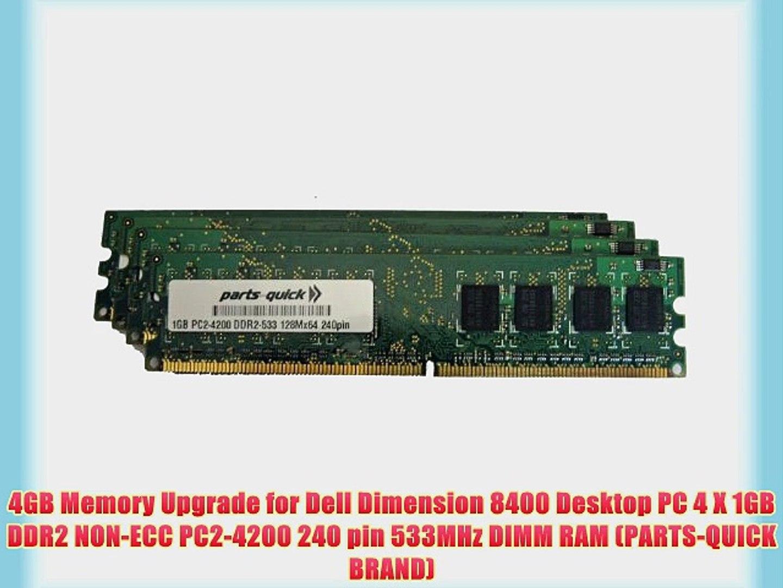 DDR2-667MHz 240-pin DIMM 1GB Memory RAM Upgrade for Dell Dimension E521