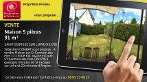 A vendre - maison - SAINT GEORGES SUR LOIRE (49170) - 5 pièces - 91m²