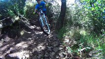 MTB / VTT Trail riding with Knolly Chilcotin - Le Puech (france)