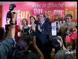 20h France 2 du 3 Mai 2005 - Jacques Chirac et l'Europe  - Archive INA