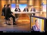 Extrait du débat entre Georges FRECHE, JACQUE BLANC et Alain JAMET dans l'émission Midi Libre