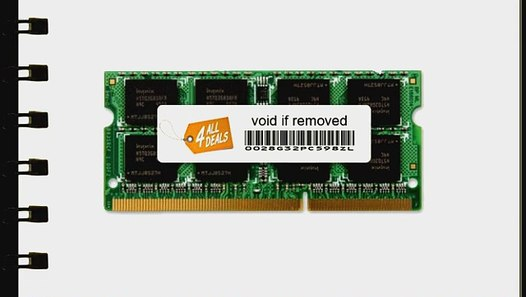 "8GB 2X 4GB RAM MEMORY FOR APPLE MACBOOK PRO 17/"" CORE I5 I7 MID 2010 NEW!!!"