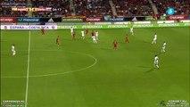 Johan Venegas Goal - Spain vs Costa Rica 0-1 ( Friendly Match 2015 ) HD