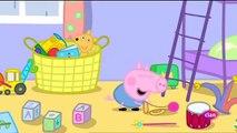 Peppa pig Castellano Temporada 4x08 El juego de los dias de lluvia