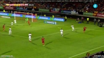 Cesc Fàbregas Goal - Spain vs Costa Rica 2-1 ( Friendly Match ) 2015 HD