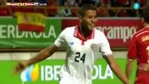 Espana vs Costa Rica 2-1 Todos Los Goles (Amistoso Internacional) 2015