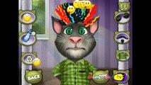 Talking Tom Cat Hair Salon - My Talking Tom Cat Full Games - Talking Tom Funny Baby