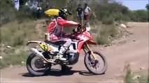 DAKAR Crashes - What Happens Turning after pool