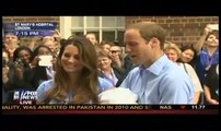 ROYAL CLOSE-UP!! Kate Middleton & Prince William Show Off New Baby Boy to the world!