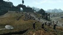 ♛ Skyrim Massive AI Battles - Imperial Fort Assault - Mid Battle Freeze Test