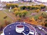 Video Minsk View from Hotel Belarus