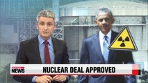 Obama approves revised nuclear deal with Korea