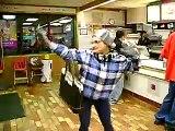 Dancing Grandma in McDonalds