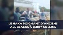 Le haka poignant d'anciens All Blacks à Jerry Collins