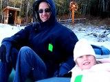 Snow Tubing and Skiing 2008