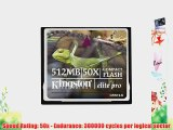 Kingston 512 MB CompactFlash Card (CF/512-S) (Retail Package)