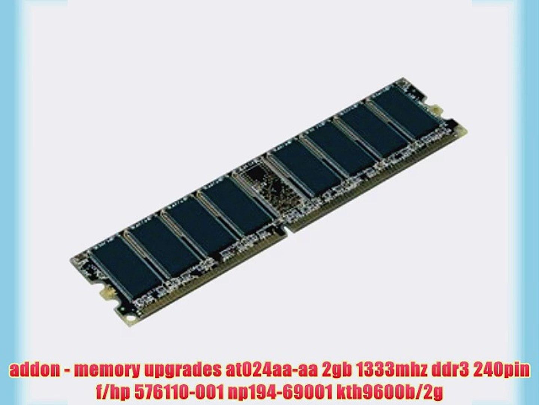 8GB KIT 4 x 2GB Dell PowerEdge T110 II HP Proliant ML110 G6 G7 Server Memory