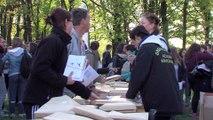Le rdv sportif des jeunes ligériens par les étudiants du lycée Léonard Vinci à Montaigu