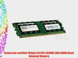 2GB 2X1GB RAM Memory for Gateway 500 Series 500XL (DDR) DDR DIMM 184pin PC2100 266MHz Black