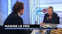 Marine Le Pen, invitée de Guillaume Durand avec LCI (12.06.15)