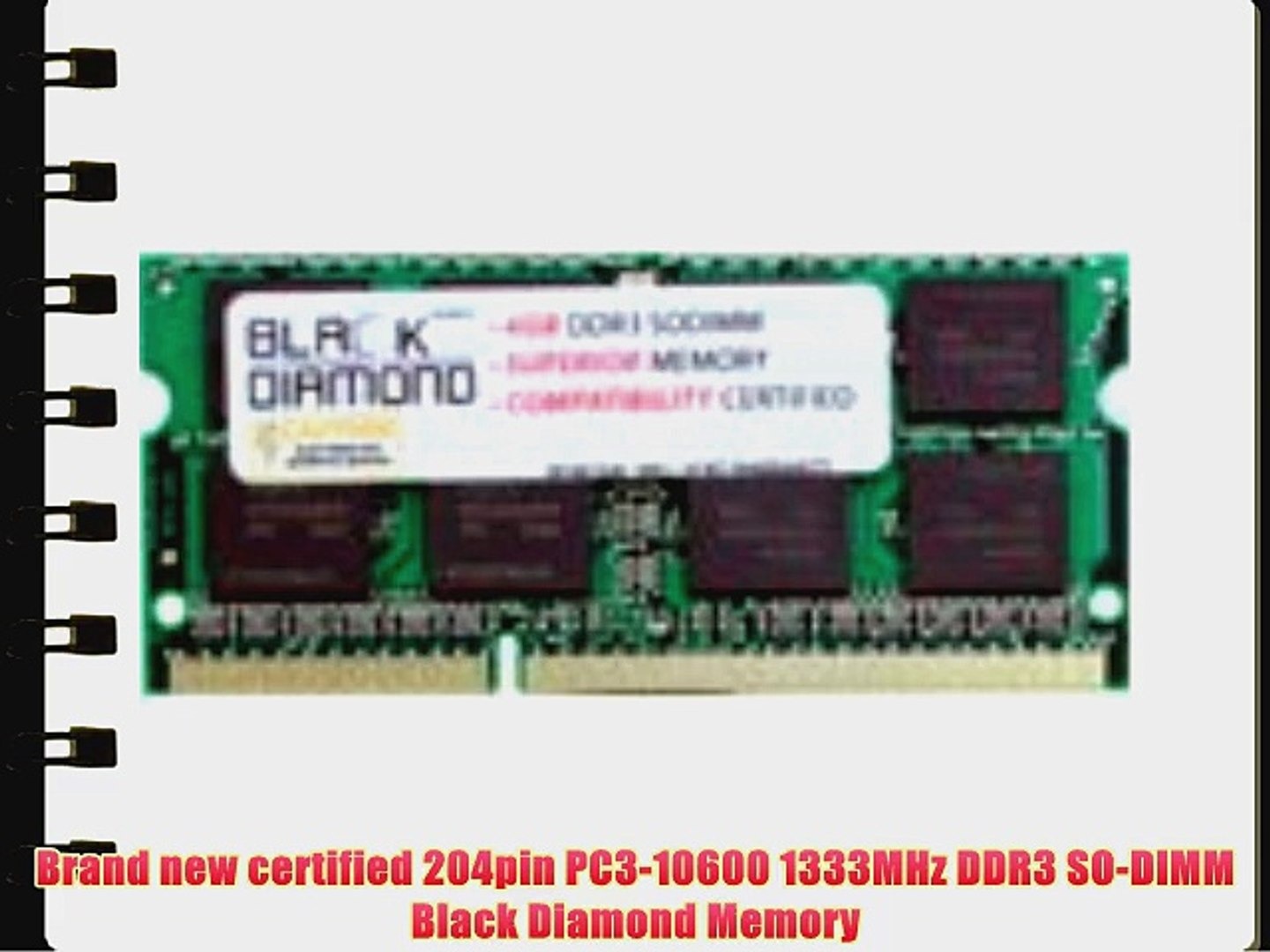 4GB RAM Memory for Compaq HP 2000 Series 2000-428DX Black Diamond Memory Module DDR3 SO-DIMM