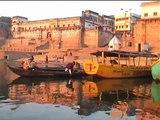 India - Varanasi (Benares) - Ganges river Cruise