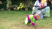 animal dance Sri Lankan Monkey Dancer guide man  topten funny@croos