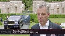 Concorso D'Eleganza Villa D'Este 2015 - Thorsten Müller-Ötvös CEO of Rolls-Royce Motor Cars