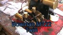Bowman M122 Toy Steam Engine Runs On Live Steam.