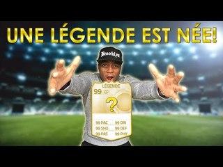 FIFA15 - UNE LEGENDE EST NEE !!!