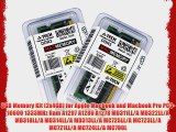 8GB Memory Kit (2x4GB) for Apple Macbook and Macbook Pro PC3-10600 1333MHz Ram A1297 A1286