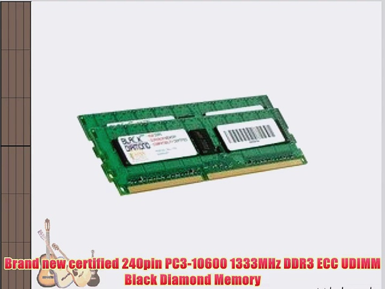 16GB Memory RAM FOR Dell PowerEdge R210 II T110 II 1333MHz ECC Module 2 x 8GB