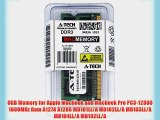 8GB Memory for Apple Macbook and Macbook Pro PC3-12800 1600MHz Ram A1278 A1286 MD101LL/A MD102LL/A