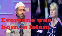 A white lady concerned for them who are not exposed to Islam-Dr Zakir Naik