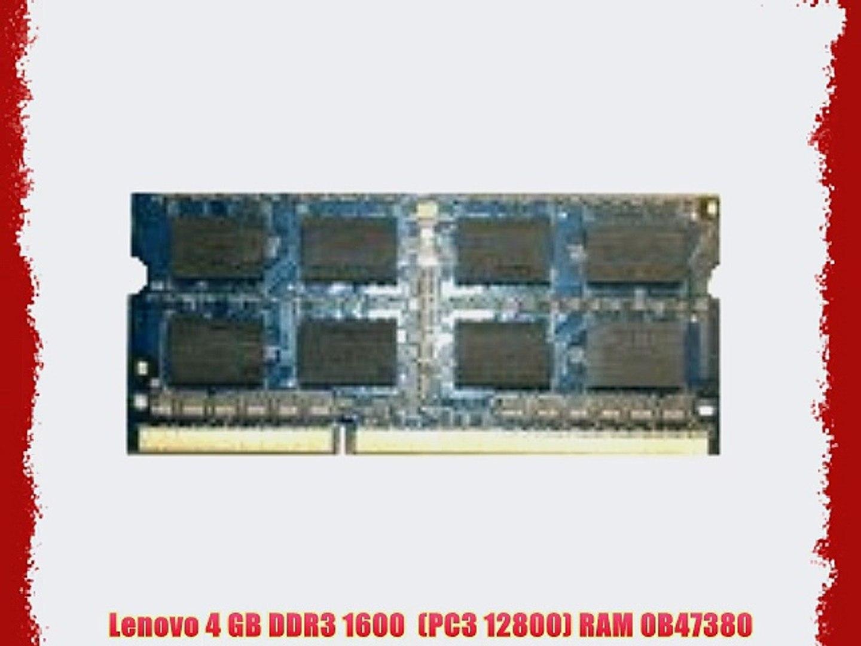 16GB 2X8GB PC3-12800 DDR3-1600MHz IBM Lenovo ThinkPad T430 Memory RAM NEW