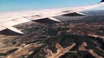Continental Airlines 757 Landing Madrid Barajas