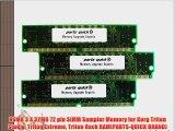96MB 3 X 32MB 72 pin SIMM Sampler Memory for Korg Triton Studio Triton Extreme Triton Rack