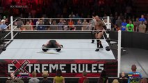 The Undertaker VS The Rock-Extreme Rulers_2015