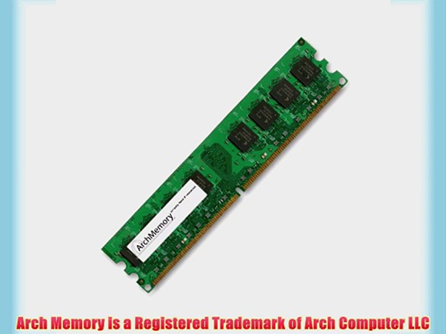 2GB RAM Memory Upgrade for Lenovo ThinkCentre M52 8215-D1U by Arch Memory