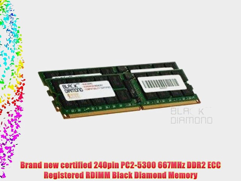 Memory RAM Compatible with Dell PowerEdge M605 DDR2 ECC REG 4GB 2x2GB