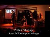 Spectacle slam-musique-danse et vidéo-commémoration 1ère guerre mondiale