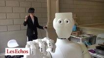 SAMI, le robot semi-humanoïde contrôlé par la pensée