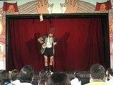 Palhaço Claudinei - gag de circo no teatro de bonecos